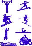 sporty. Obrazy Royalty Free