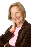 Sporty and active senior Royalty Free Stock Photo