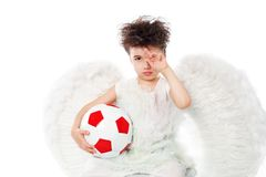 Sporty angel Stock Photography