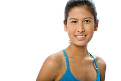 Sporty Asian Woman Stock Image