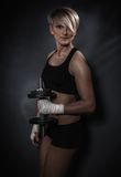 Sporty athletic woman Royalty Free Stock Photography