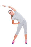 Sporty attractive woman Royalty Free Stock Photo