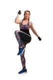 Sporty beauty woman having training Stock Photo