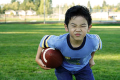 Sporty boy stock images