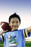 Sporty boy Stock Image