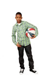 Sporty boy Royalty Free Stock Photo