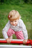 Sporty child Royalty Free Stock Image