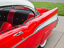 Sporty classic, 1957 Chevy Stock Photography