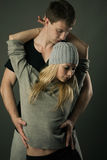 Sporty couple Royalty Free Stock Photography
