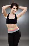Sporty ethnic woman Royalty Free Stock Images