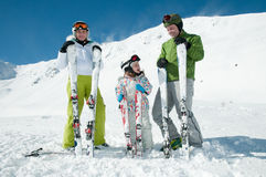 Sporty family Stock Photo