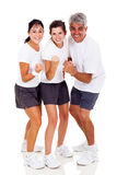 Sporty family Stock Image