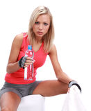 Sporty female Stock Photo