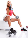 Sporty female Stock Photography