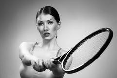 Sporty girl Stock Image