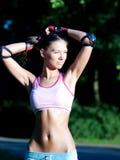 Sporty girl Stock Photos