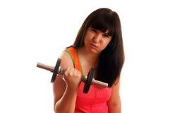 Sporty girl Stock Photo