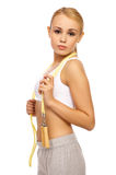 Sporty Girl Royalty Free Stock Photo