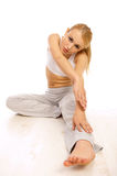 Sporty Girl Stock Images