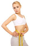 Sporty Girl Royalty Free Stock Image
