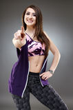 Sporty girl Royalty Free Stock Photography
