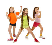 Sporty girls Royalty Free Stock Photo