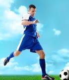 Sporty guy Stock Image