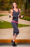 Sporty i zdrowy Fotografia Stock