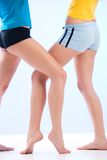 Sporty legs Royalty Free Stock Photography