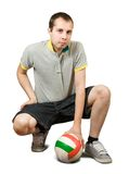 Sporty man Royalty Free Stock Image