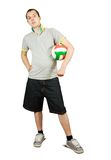 Sporty man Stock Photo