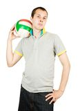 Sporty man Stock Photography