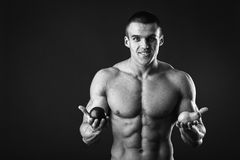 Sporty man Royalty Free Stock Images
