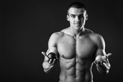 Sporty man Royalty Free Stock Photography