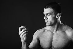 Sporty man Stock Photography