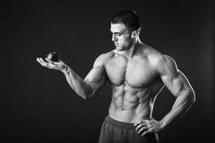 Sporty man Stock Image