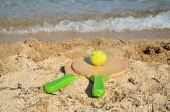 Sporty na plaży fotografia royalty free