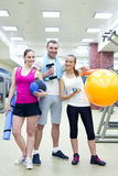 Sporty people Stock Images