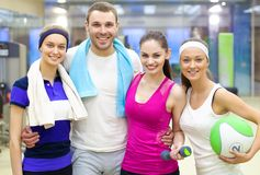 Sporty people Royalty Free Stock Photo