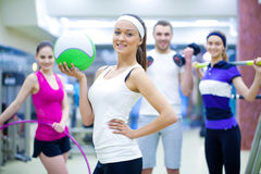 Sporty people Stock Photography