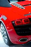 Sporty Red Car Stock Photo