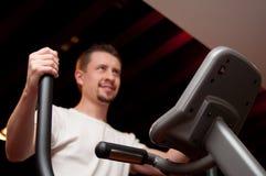 Sporty running Stock Photo