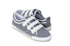 Sporty shoes isolated on the white Royalty Free Stock Photo