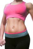 Sporty slim woman body Stock Photos