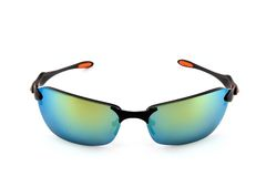 Sporty sunglasses on white Royalty Free Stock Image