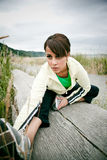 Sporty woman Royalty Free Stock Photo