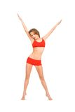 Sporty woman Royalty Free Stock Image