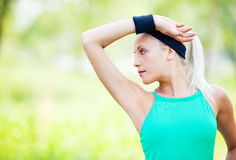 Sporty woman Stock Photos