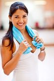 Sporty woman Stock Images