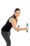 Sporty woman Stock Photography